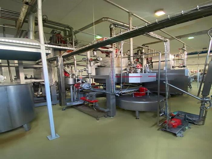 Used Hansel complete hard candy line, Year 2012