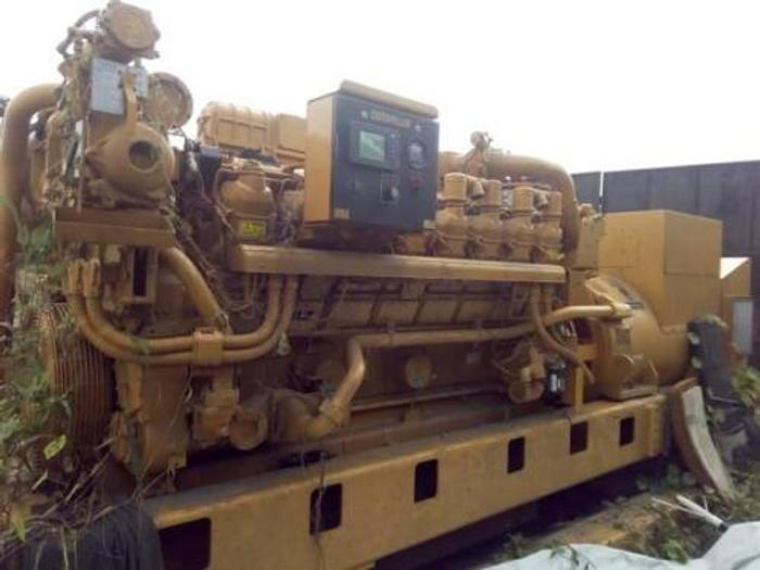 2 MW 2008 New Caterpillar 3516 New Diesel Generator