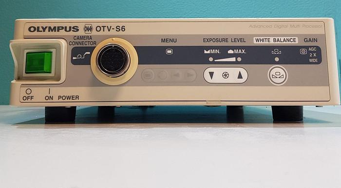Gebraucht Olympus OTV-S6 Digital Multi Prozessor mit Kamerakopf