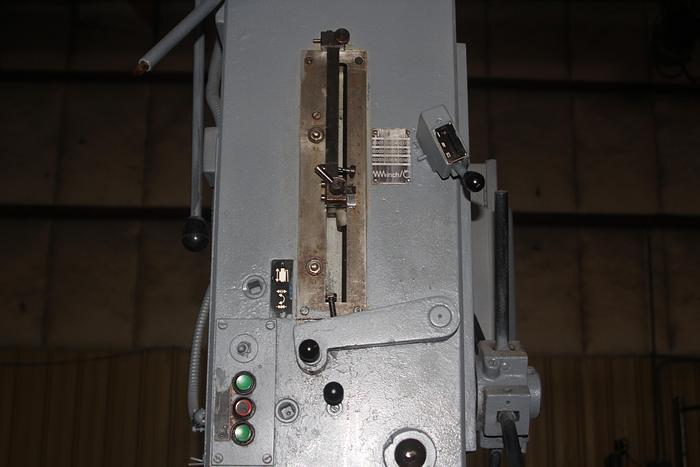 1988 WMW Hekert Sabo Standard 63 Drill Press