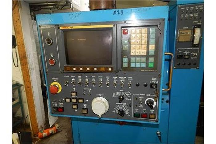 MIYANO JNC-60 CNC TURNING CENTER WITH FANUC O-T CNC CONTROL