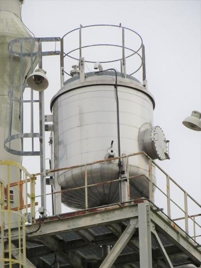 Mueller 1,500 gallon Demineralized Water Head Tank
