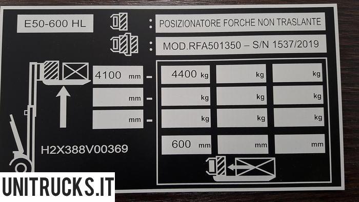 Usata 2019 LINDE E50/600 HL