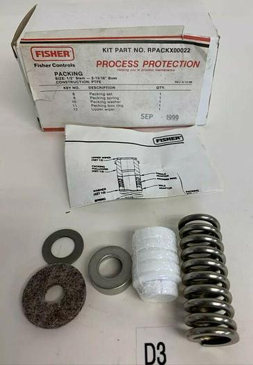 Fisher Controls RPACKX00022 Fast Shipping! ~Warranty~