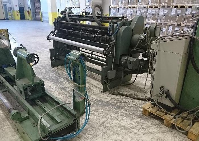 Used Slitter rewinder BIELLONI  B6N (1700mm) for film
