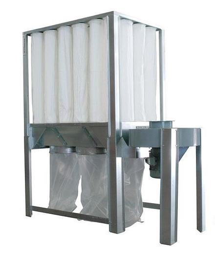 Nederman S-750 7.5HP 3 Phase Dust Collector