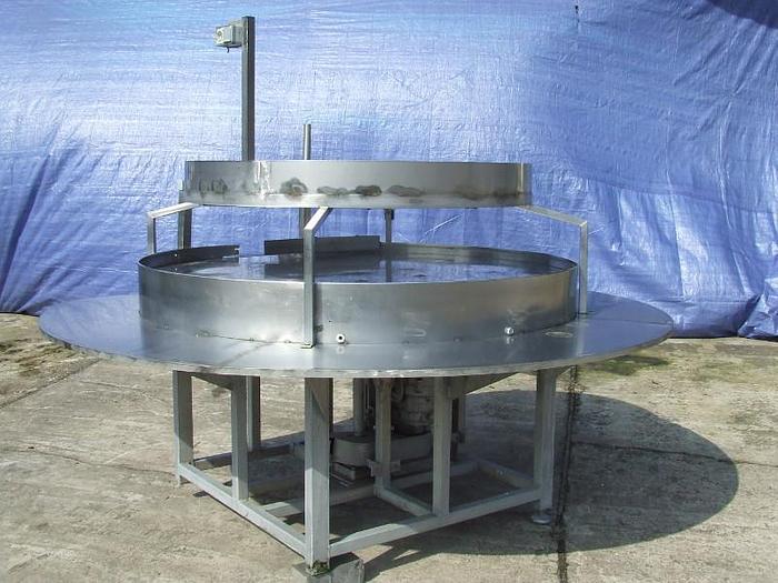 Stół obrotowy buforowy nierdzewny