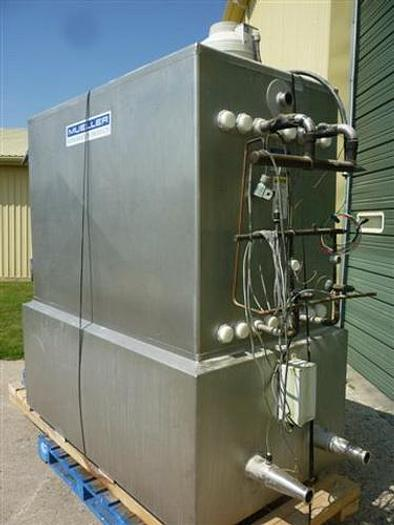 USED FALLING FILM PLATE AIR-COOLED CHILLER PACKAGE, 87,570 BTUH