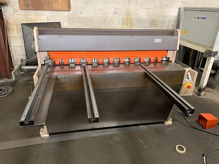 "Used 10 GA. X 50"", EDWARDS, 3.5 X 1250, MECHANICAL SHEAR"