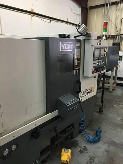 2013 YCM GT-200B CNC Lathe