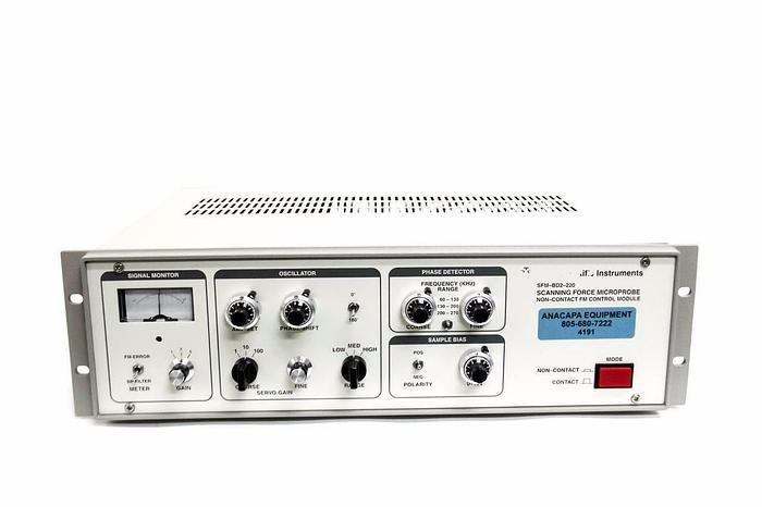 Used Park Scientific SFM-BD2-220 Scanning Force Microscope FM Control Module (4191)
