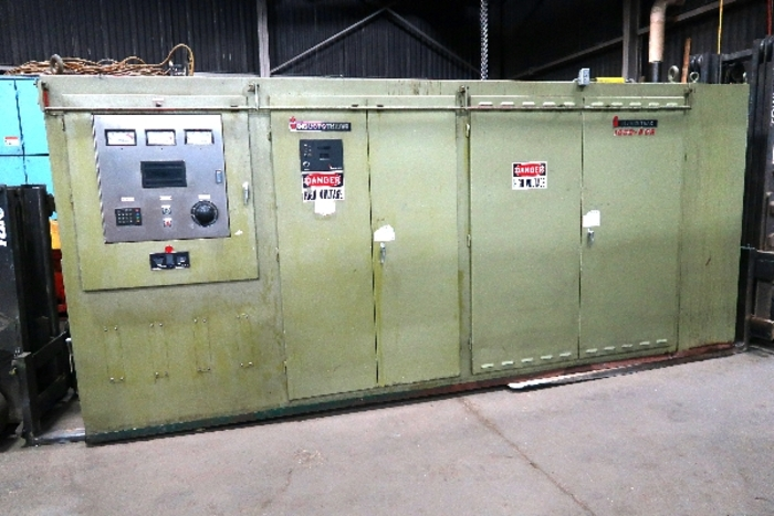 INDUCTOTHERM INDUCTION MELTING SYSTEM, 2 TONS (on hold)
