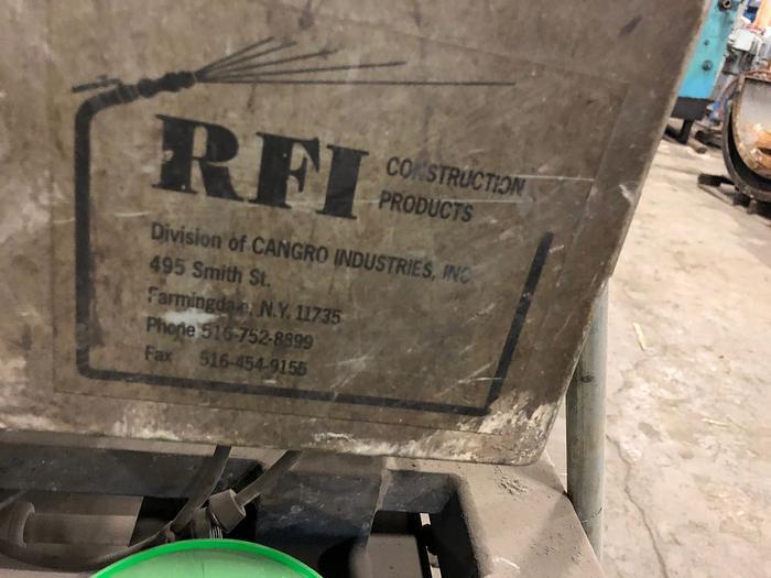 RFI REFRACTORY MIXER