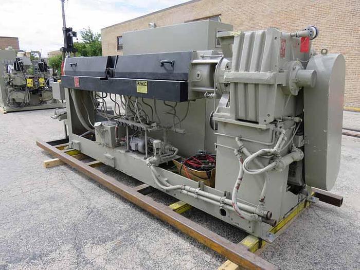 Used DAVIS STANDARD EXTRUDER MDL. MV35IN35SR