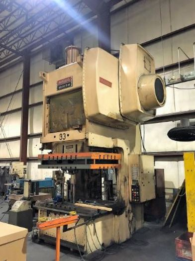 200 ton Niagara 2pt. Gap Frame Press