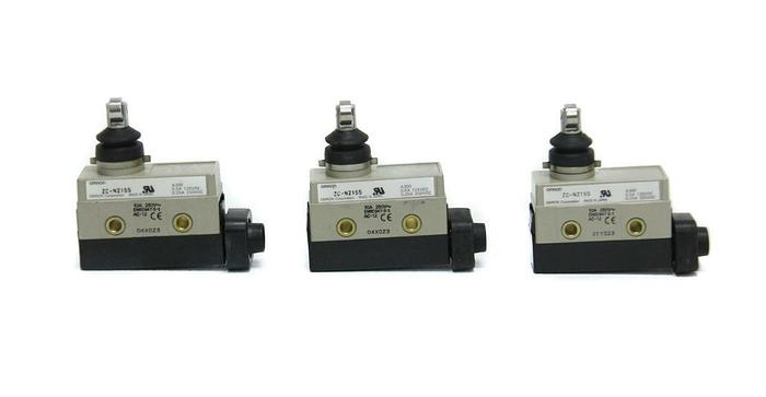Used Omron ZC-N2155 Limit Switch Lot of 3 (5092)