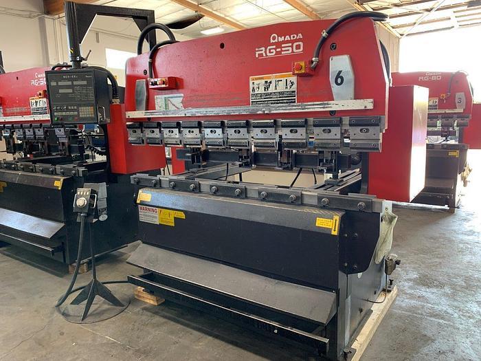 2000 55 Ton Amada RG-50 CNC Press Brake