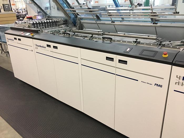 2011 - Hunkeler POPP6 PM6 Merger, Pinless, 100 m/min, Serial No PM6 7514.00002-01/02