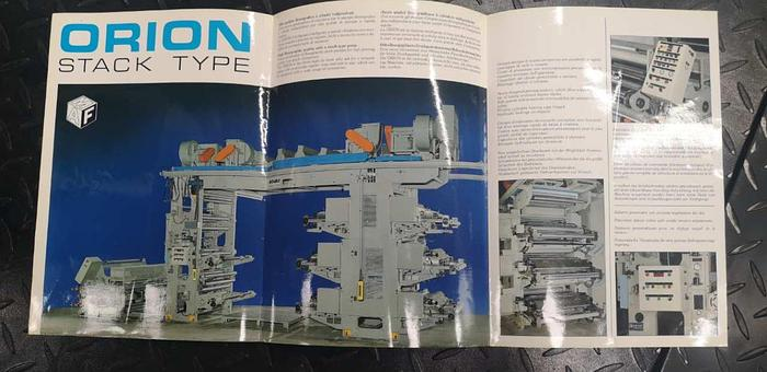 MAF Orion 877 – 4 col. Flexo (Special price for fast sale)