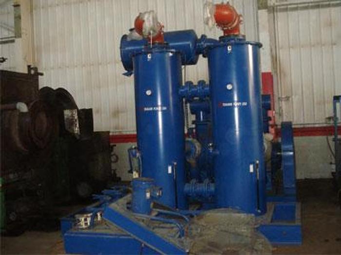 Used Travaini 150 HP Vacuum Pump w/ Somarakis Pump