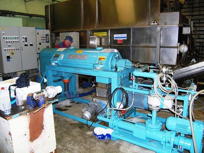 Refurbished Alfa Laval AVNX719B-31G decanter centrifuge - sludge dewatering system