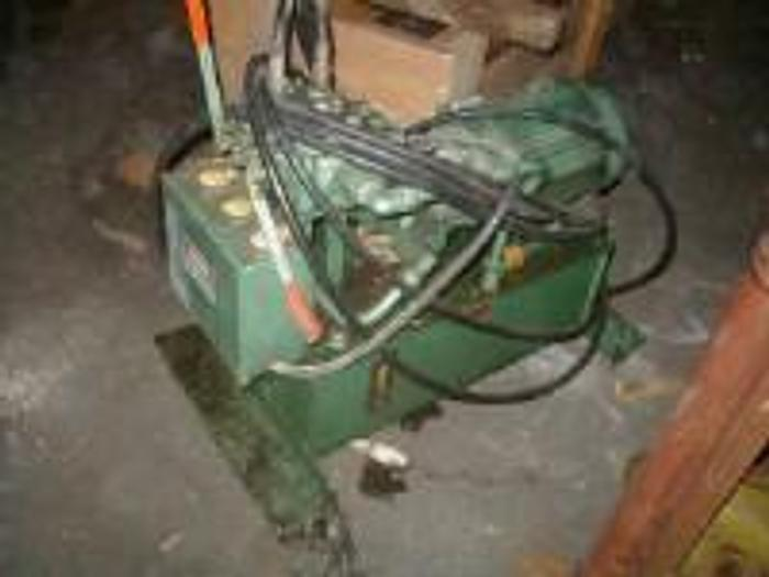 Used 10 HP hydraulic power pack for printing press.