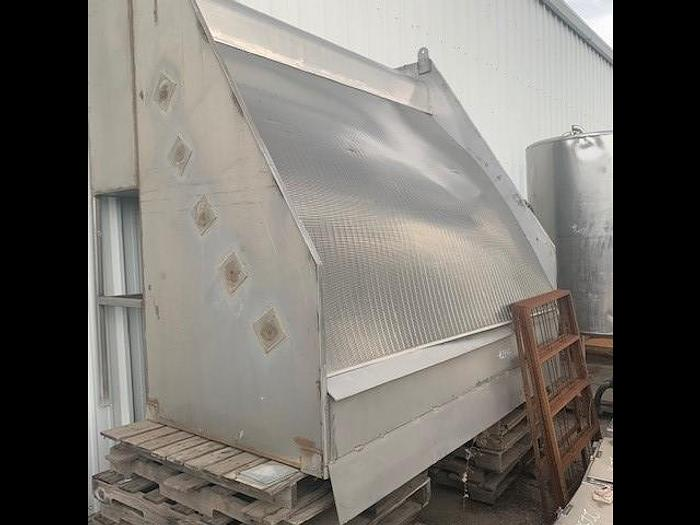 Used 8' Wide Parabolic Wastewater Screen