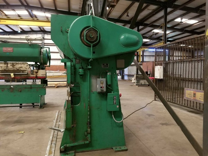 CHICAGO DREIS & KRUMP 12 FT Press Brake 90 Tom