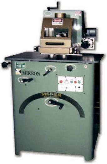 Used Mikron M652R Radius Moulder