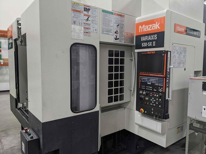 2008 Mazak  Variaxis 630 5X