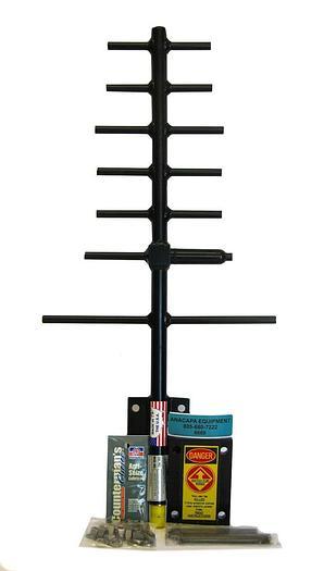 Used Telewave ANT850Y10-WR, 824-896 MHz 10dB 7 Element Yagi Antenna New (6669)W