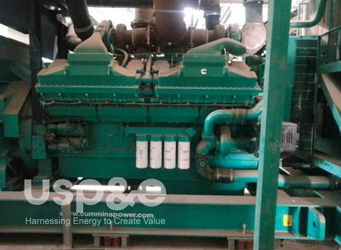 1.8 MW 2009 New Cummins C2250D5 Diesel Generator