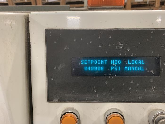 "2007 ALLTRA CORP. 120"" X APPROX. 468"" 2 HEAD CNC WATER JET"