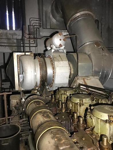 Used 3.9 MW Complete HFO Power Plant MAN 9L 32 40