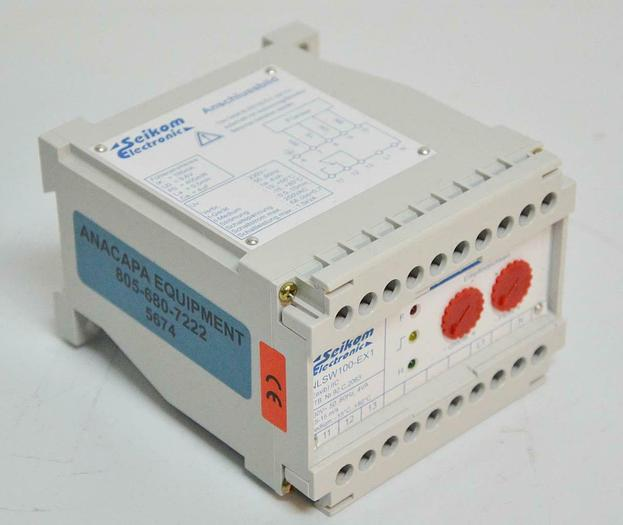Used Seikom Electronic NLSW100-EX1 NLSW Air Flow Monitor 5674 N