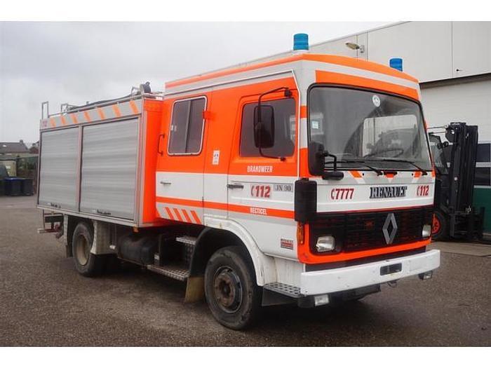 Used 1983 Renault JN90 / Firetruck / 1.500 Ltr / Full steel suspensions / Water pump / 40.000 km