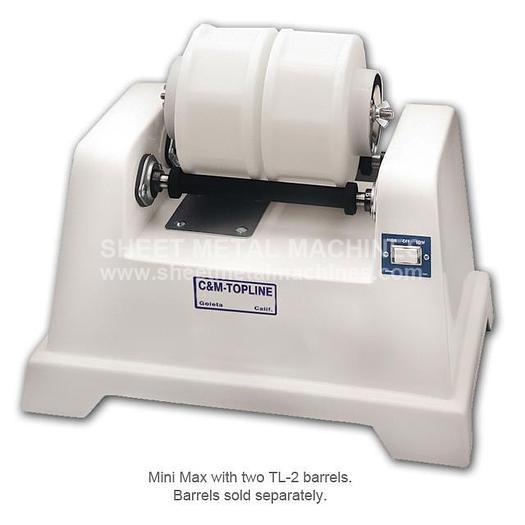 C&M TOPLINE 2 Bar 2 Speed Rotary Tumbler Base MINI MAX