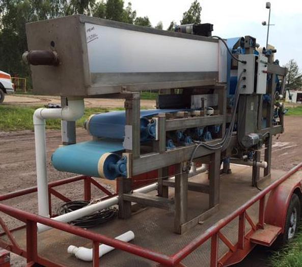 Refurbished BP-04: Used 1/2 Meter Belt Press