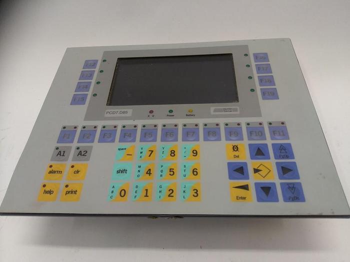 Operator Panel, Terminal PCD7.D850, Siemens,  neuwertig