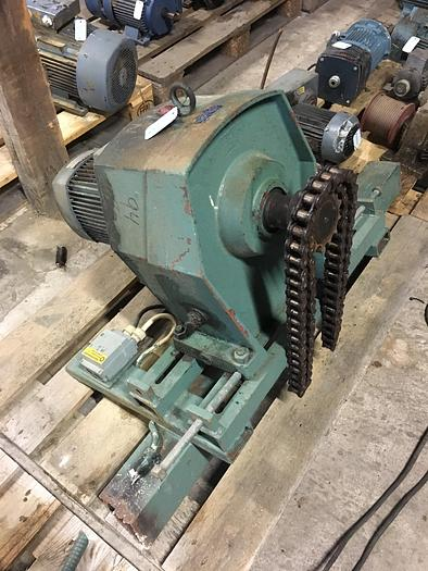 Used 1,5 kW, ASEA, Electric motor with reducer