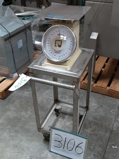 Used Pelouze 60 Pound Platform Scale