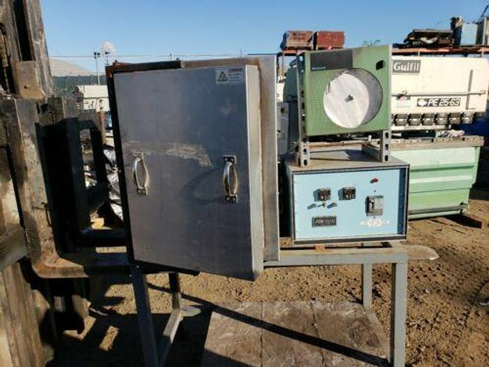 """Used ATS SERIES 3150 LAB FURNACE 16"""" X 16"""" X 24"""" ID 2300 DEGREES F WITH CONTROLS"""