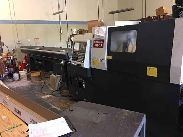 2014 Yama Seiki SW-32 CNC Swiss Automatic - Fanuc 18iT-B