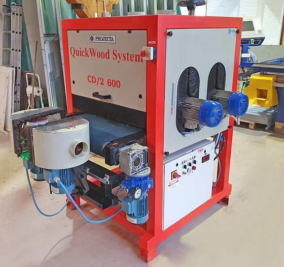 Used 1999 Quickwood Italy Calibrating / Brushing machines QuickWood System