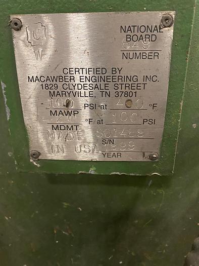 1999 MACAWBER 8/6 PNEUMATIC SAND TRANSPORTER (On Hold)