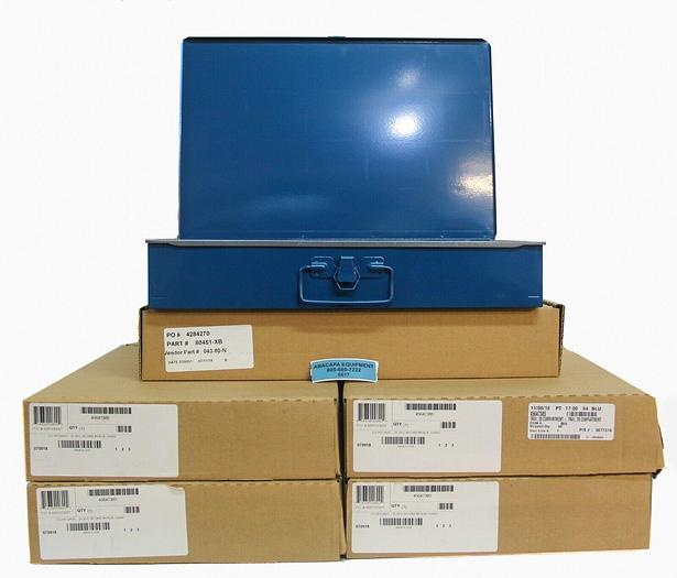 """Used Durham 111-04 Steel Compartment Box with Insert 18x12x3"""" Lot of 8 (6617) W"""