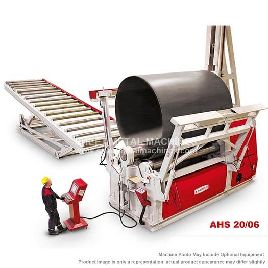 AKYAPAK 4-Roll Hydraulic Plate Roll AHS 20/06