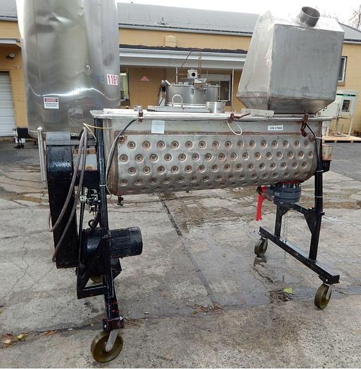 Used 10 CU. FT. DOUBLE RIBBON BLENDER – S/S – JACKETED (#9332)