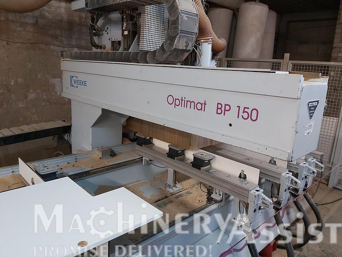 Used 1998 WEEKE OPTIMAT BP 150 K