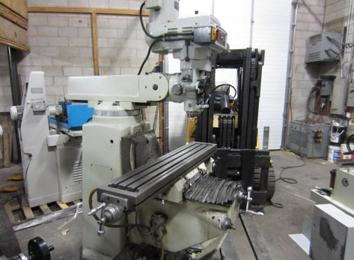 "10"" x 54"" Magnum-Cut Model VM-4V Vertical Turret Milling Machine 5612"